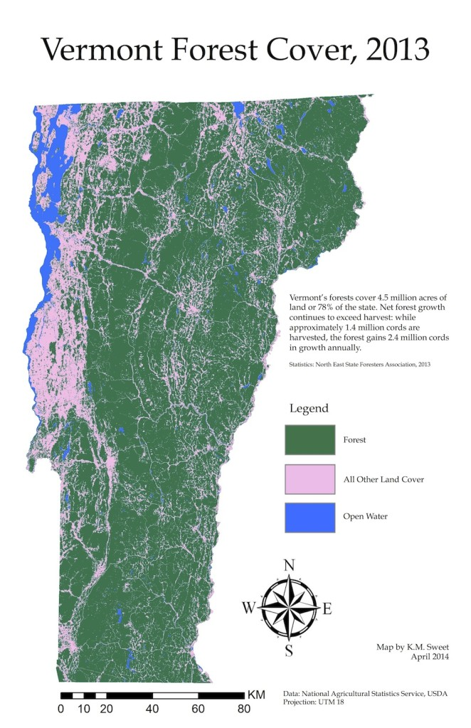 Vermont Forest Cover